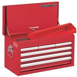 KING TONY 6 DR TOOL CHEST BRG RUNRS