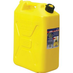 SCEPTER 20L DIESEL FUEL CONTAINER YELLOW ( PETCD520)
