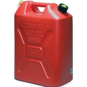 SCEPTER STD 20LTR RED FUEL JERRY CAN  PETCRV520