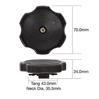 TRIDON OIL FILLER CAP TOC66