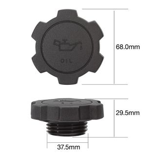 TRIDON OIL FILLER CAP TOC68