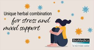 Unique herbal combination for stress and mood support