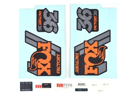 36 Factory Series Decal Kit