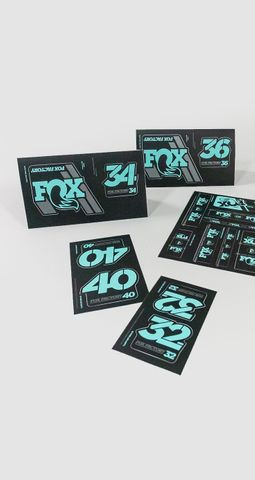 Decal 2019 AM Heritage, Fork and Shock Kit, Mint