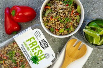 Coriander & Triple Quinoa Salad