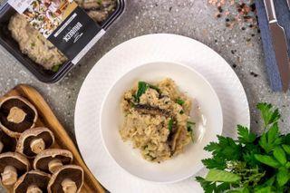 BISTRO-Mushroom Risotto