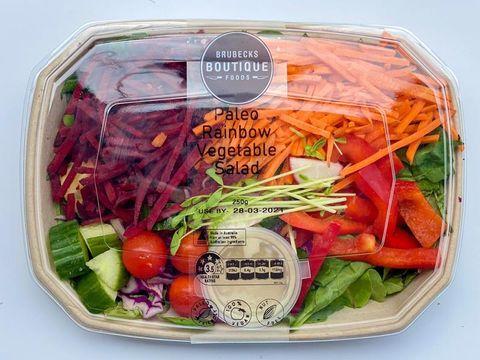 LEAFY-Paleo Rainbow Salad