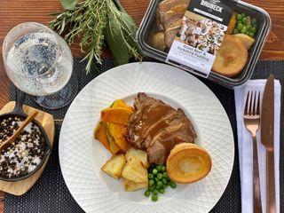 BISTRO-Roast Beef Yorkshire Pu