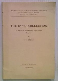 The Banks Collection: An Episode in 18th-Century
