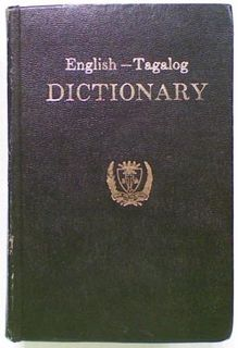 English - Tagalog Dictionary