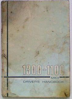 Austin/Morris 1300-1100 MkII Owner's Handbook