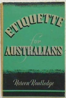 Etiquette for Australians