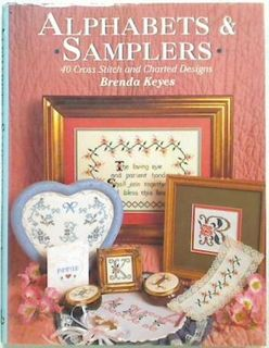 Alphabet & Samplers. 40 Cross Stitch