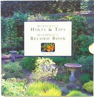 Gardener's Hints & Tips & Record Book