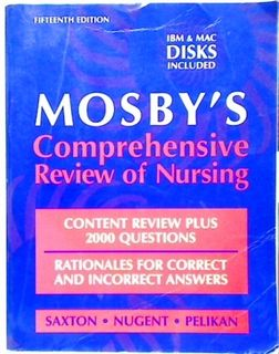 Mosby's Comprehensive Review of Nursing