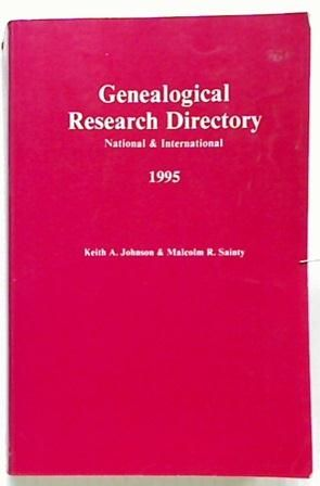 Genealogical Research Dictionary 1995