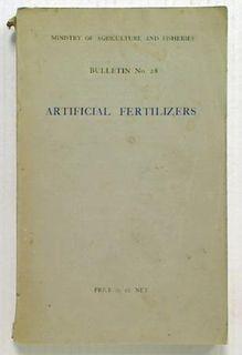 Artificial Fertilizers in Modern
