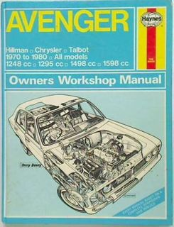 Avenger 1970 - 1980