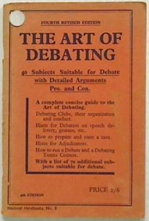 The Art of Debating