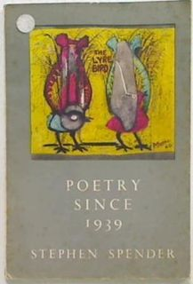 Poetry Since 1939