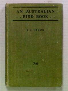 An Australian Bird Book. With Supplement