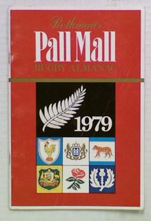 Rothmans Pall Mall Rugby Almanack 1979
