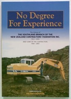 No Degree For Experience. The History of The Southland