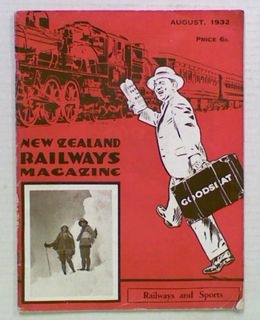 New Zealand Railways Magazine. August 1932