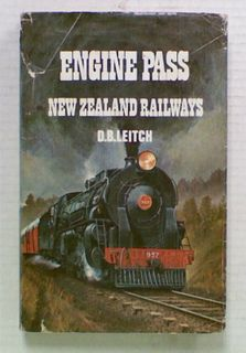 Engine Pass. New Zealand Railways