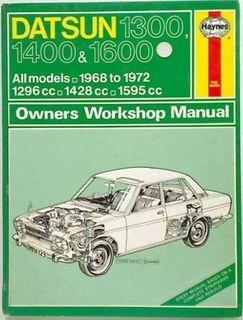 Datsun 1300,1400&1600 1968 - 1972