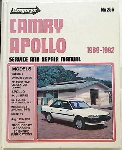 Camry Apollo 1989-1992