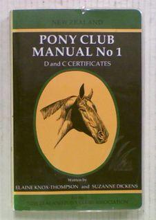 New Zealand Pony Club Manual No 1 (1981)