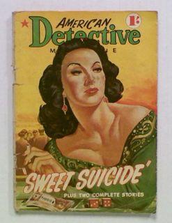 American Detective Magazine 'Sweet Suicide'