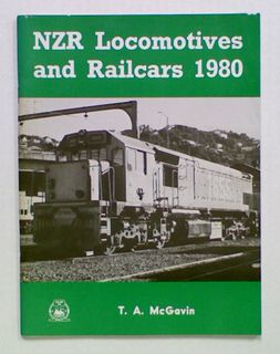 NZR Locomotives and Railcars 1980