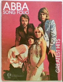 ABBA Song Folio. Greatest Hits