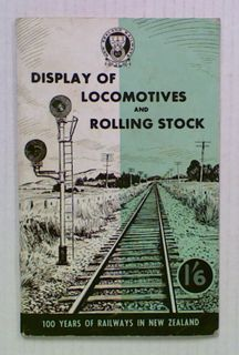 Display of Locomotives and Rolling Stock