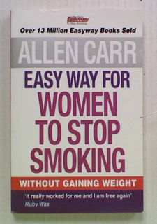 Allen Carr Easy Way For Women To Stop Smoking