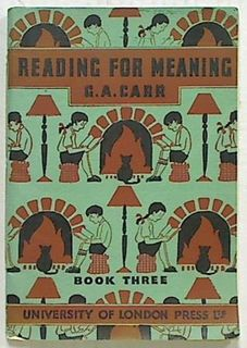 Reading For Meaning. Book Three