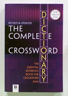 The Complete Crossword Dictionary 3rd Edition