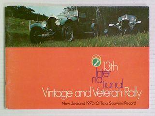 13th International Vintage and Veteran Rally