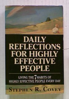 Daily Reflections For Highly Effective People.