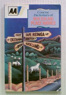 AA Concise Dictionary of New Zealand Place Names