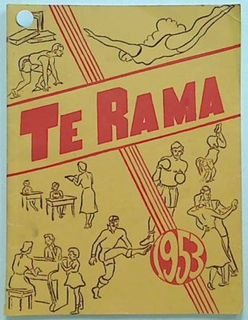 Te Rama: 1953 .Official Magazine of the