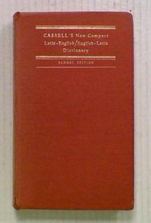 Cassell's New Compact Latin - English. English - Latin