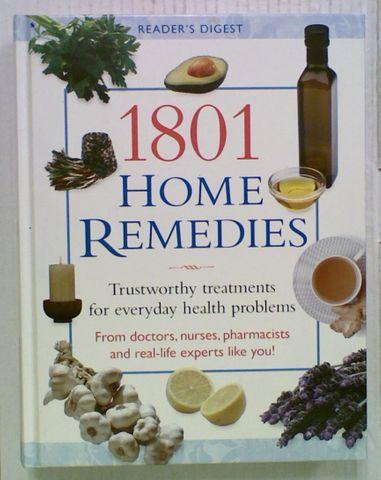 Reader's Digest 1801 Home Remedies