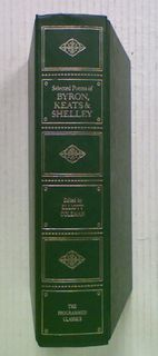 Poems of Byron, Keats and Shelley