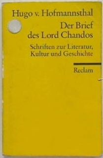 Der Brief des Lord Chandos (German)