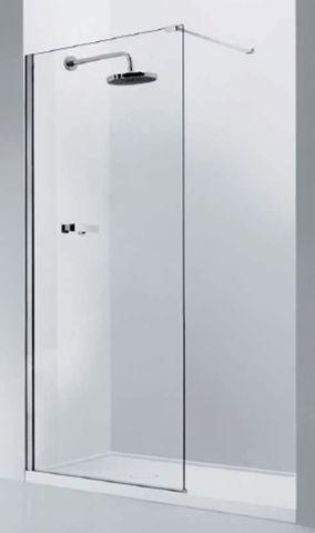 Glass Shower Panel 800mm