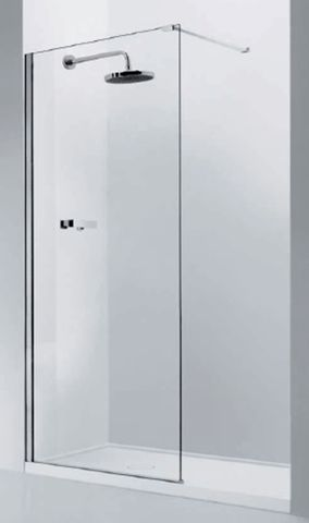 Glass Shower Panel 1200mm
