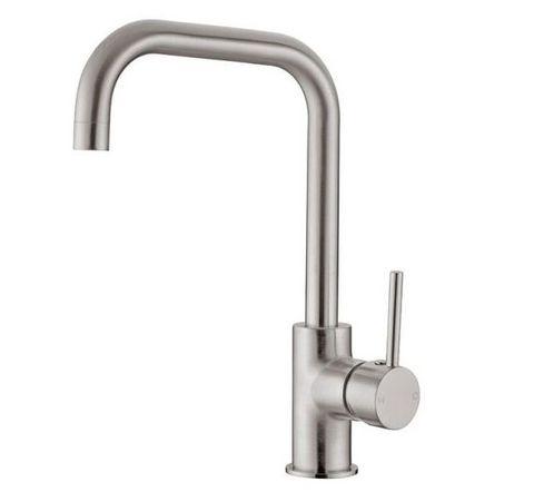Dolce Squareneck Sink Mixer B/nickel